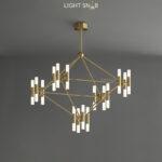 Дизайнерская люстра Graphite 32 лампы