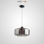 Подвесной светильник Harzard One цвет дымчатый