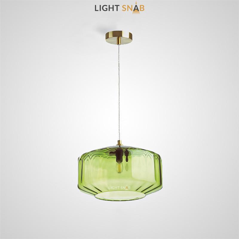 Подвесной светильник Harzard One цвет зеленый