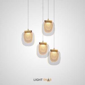 Подвесной светодиодный светильник Helina