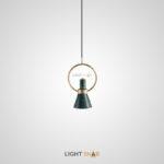 Подвесной светильник Hennan модель B. Цвет зеленый