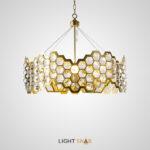 Дизайнерская люстра Honig с декором из стеклянных кристаллов