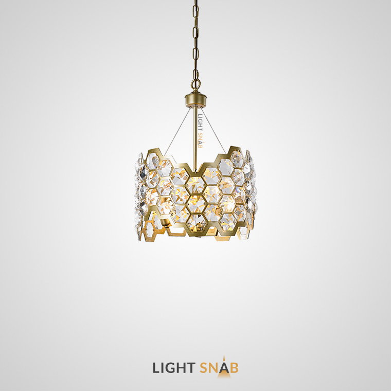 Дизайнерская люстра Honig 3 лампы