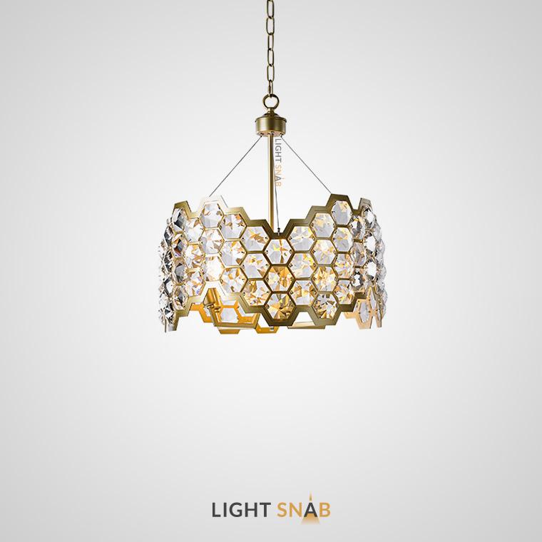 Дизайнерская люстра Honig 6 ламп