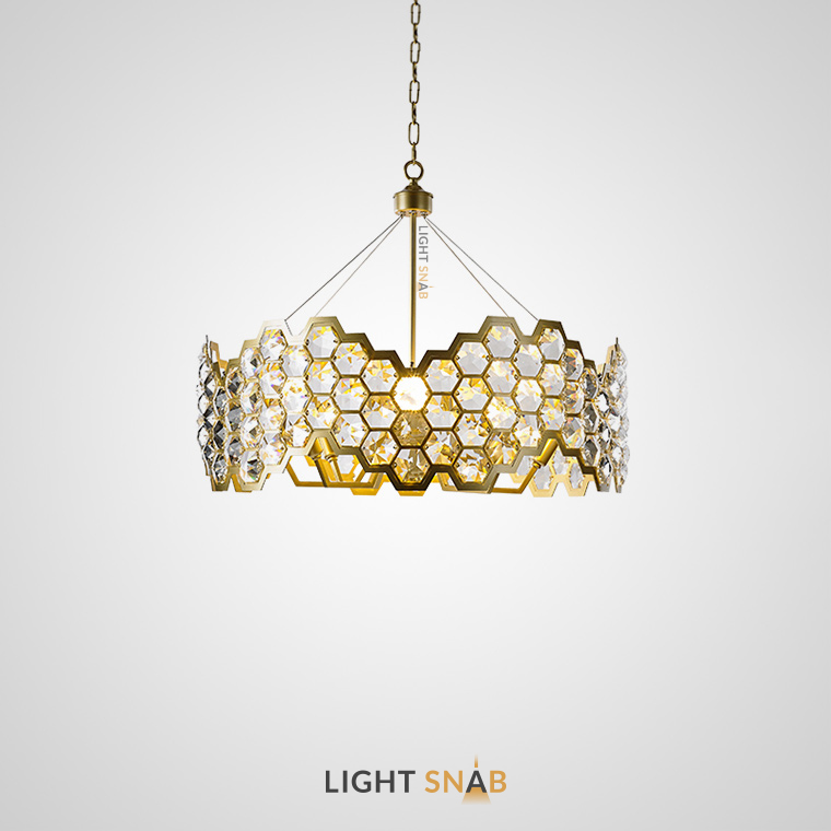 Дизайнерская люстра Honig 8 ламп