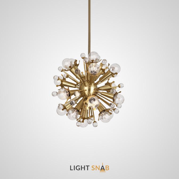 Дизайнерская люстра Impulse 15 ламп размер S