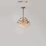 Дизайнерская люстра Isabel 4 лампы