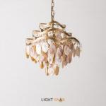Дизайнерская люстра Isabel Pearl 4 лампы