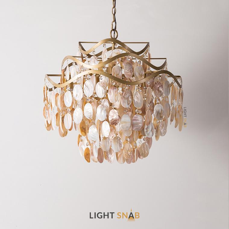 Дизайнерская люстра Isabel Pearl 7 ламп