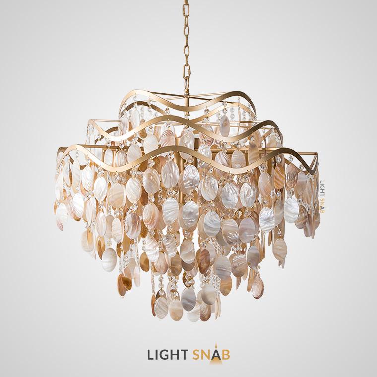 Дизайнерская люстра Isabel Pearl 9 ламп