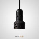 Подвесной светильник Jazz Stone камень цвет черный