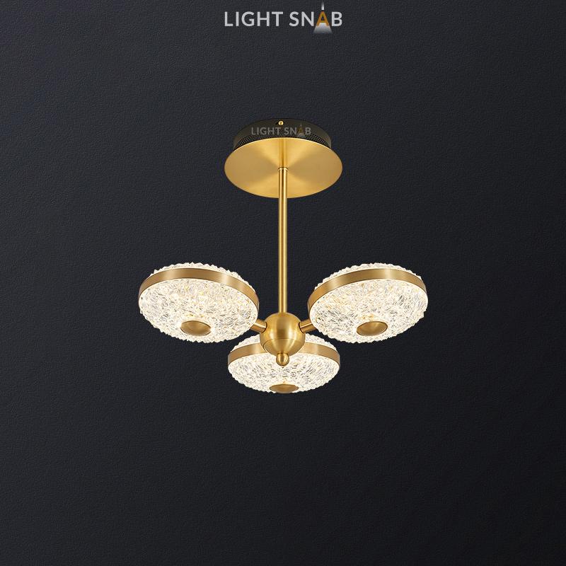 Светодиодная люстра Jina Ch 3 лампы
