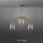 Дизайнерская люстра Jozefina Ch 3 лампы
