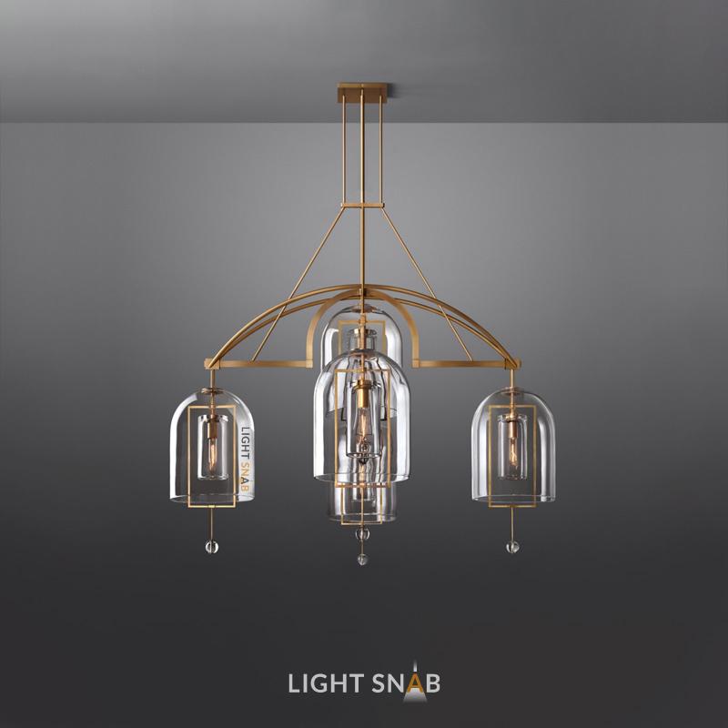 Дизайнерская люстра Jozefina Ch 5 ламп