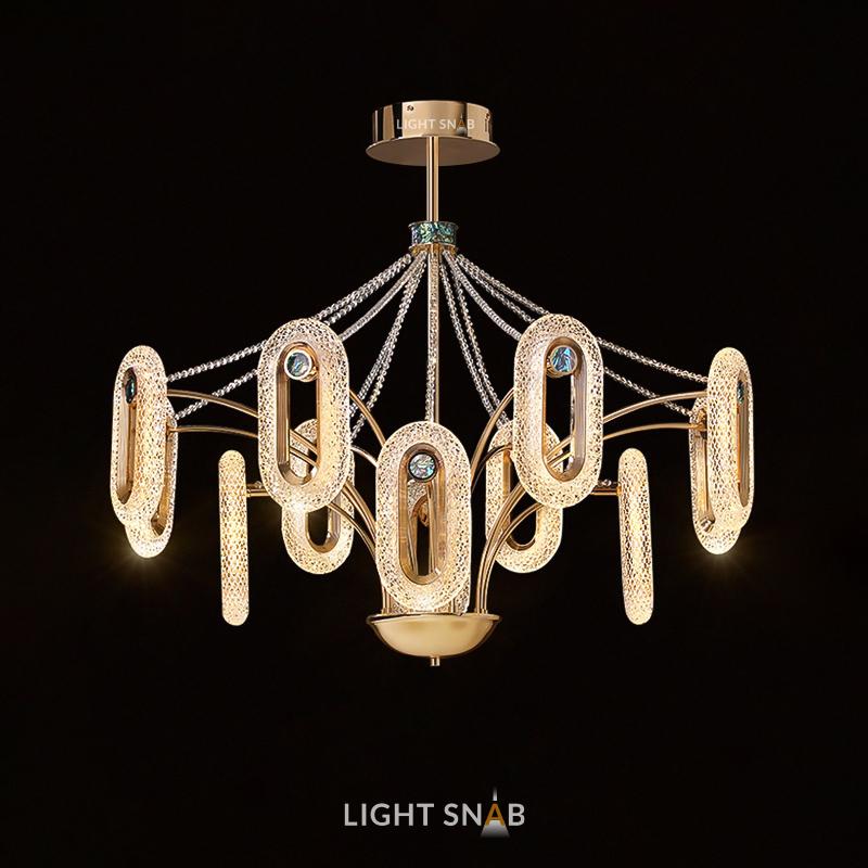 Люстра Kezia Ch 12 ламп