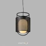 Подвесной светильник Kioto размер M цвет черный