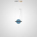 Подвесной светодиодный светильник Liberty размер S цвет синий