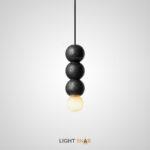 Подвесной светильник Lilla Black размер M