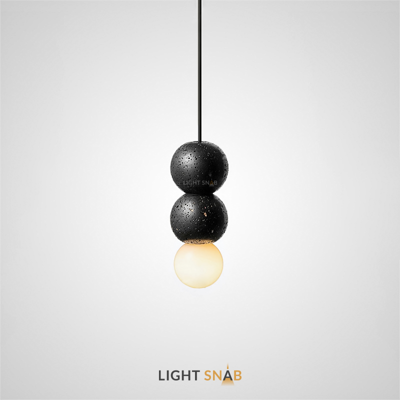 Подвесной светильник Lilla Black размер S
