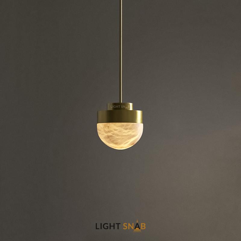 Подвесной светодиодный светильник Maien цвет латунь
