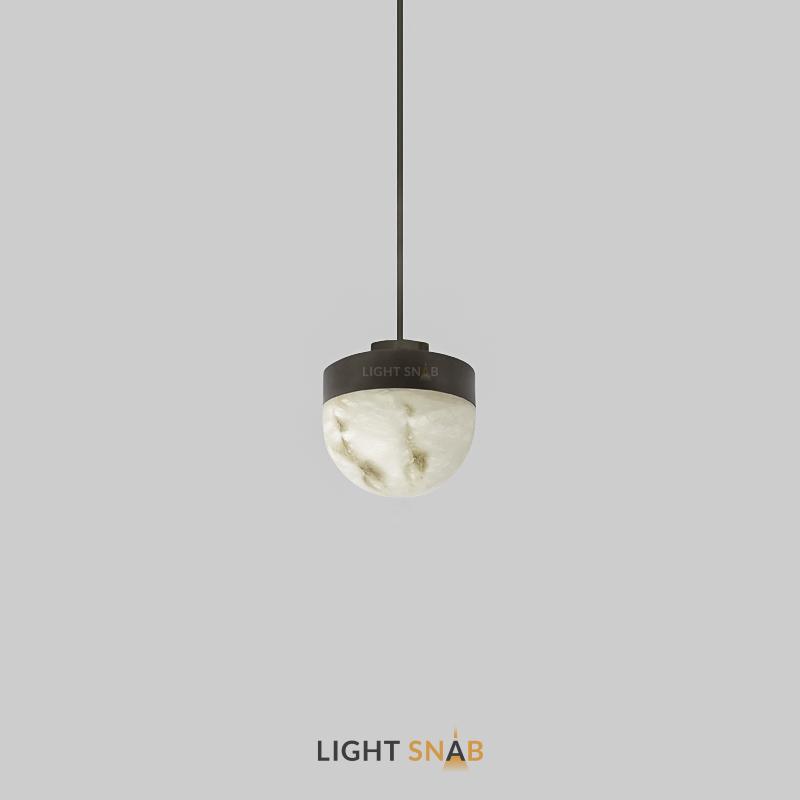 Подвесной светодиодный светильник Maien цвет черный