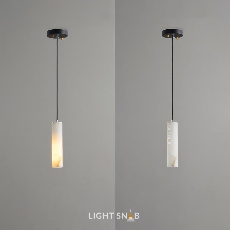 Дизайнерский подвесной светильник Marble Elit 1 лампа