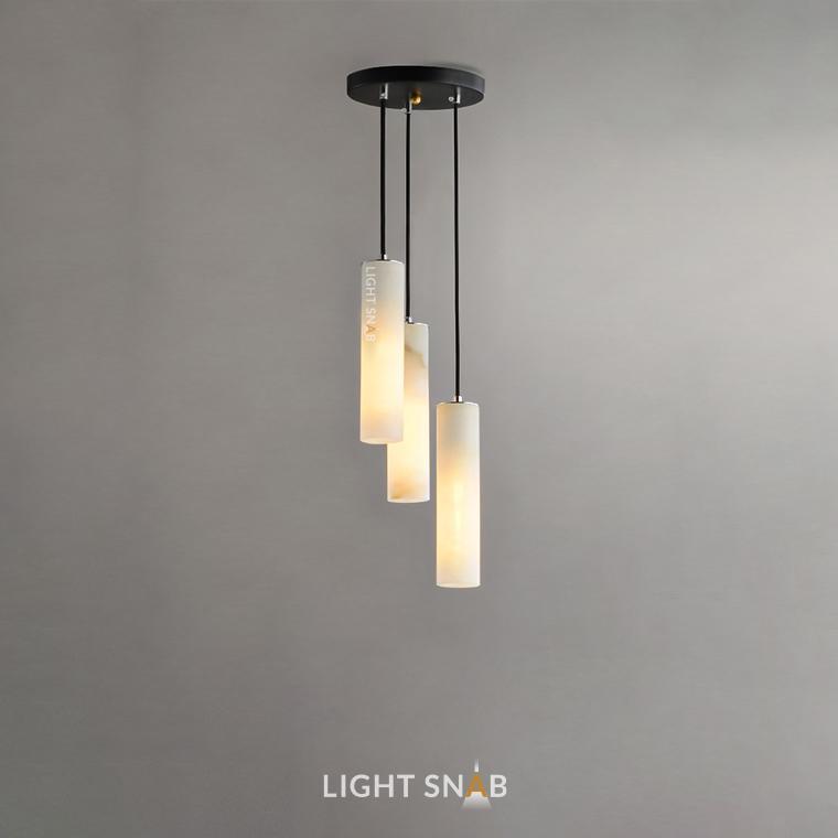Дизайнерский подвесной светильник Marble Elit 3 лампы