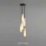 Дизайнерский подвесной светильник Marble Elit 5 ламп