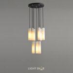 Дизайнерский подвесной светильник Marble Elit 9 ламп