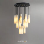 Дизайнерский подвесной светильник Marble Elit 18 ламп