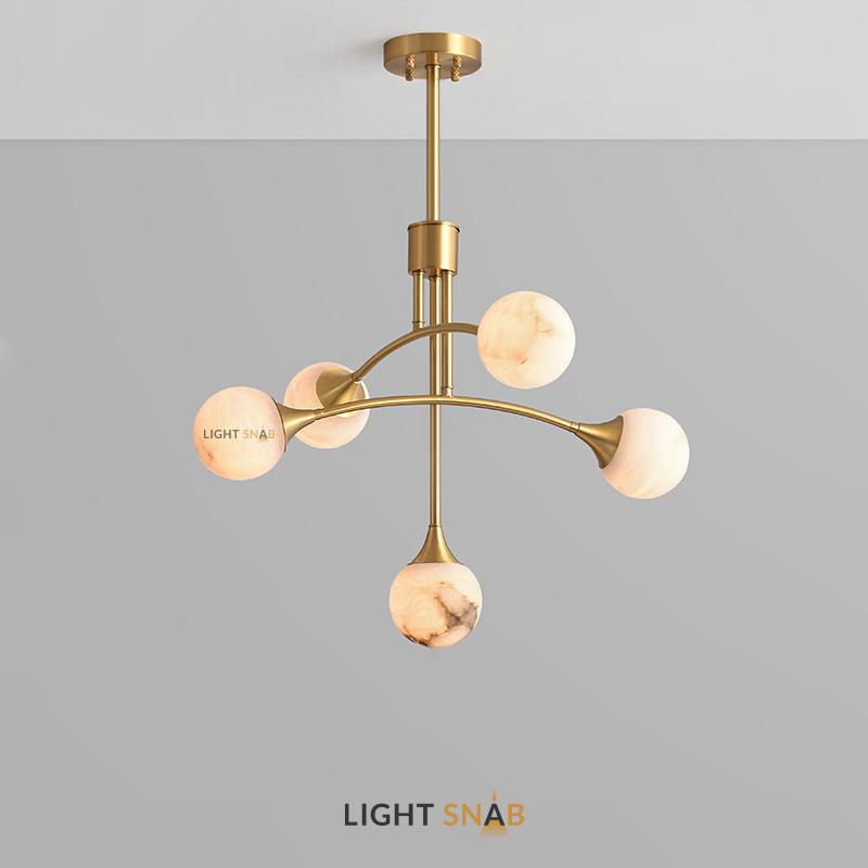 Дизайнерская люстра Maylin 5 ламп