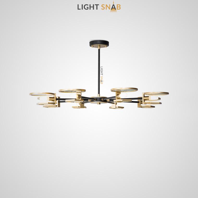 Дизайнерская люстра Mern 8 ламп
