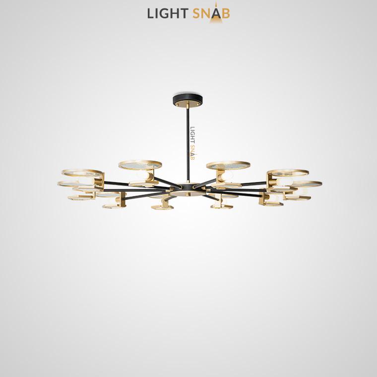 Дизайнерская люстра Mern 10 ламп