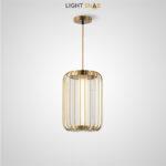 Подвесной светодиодный светильник Might размер S цвет латунь