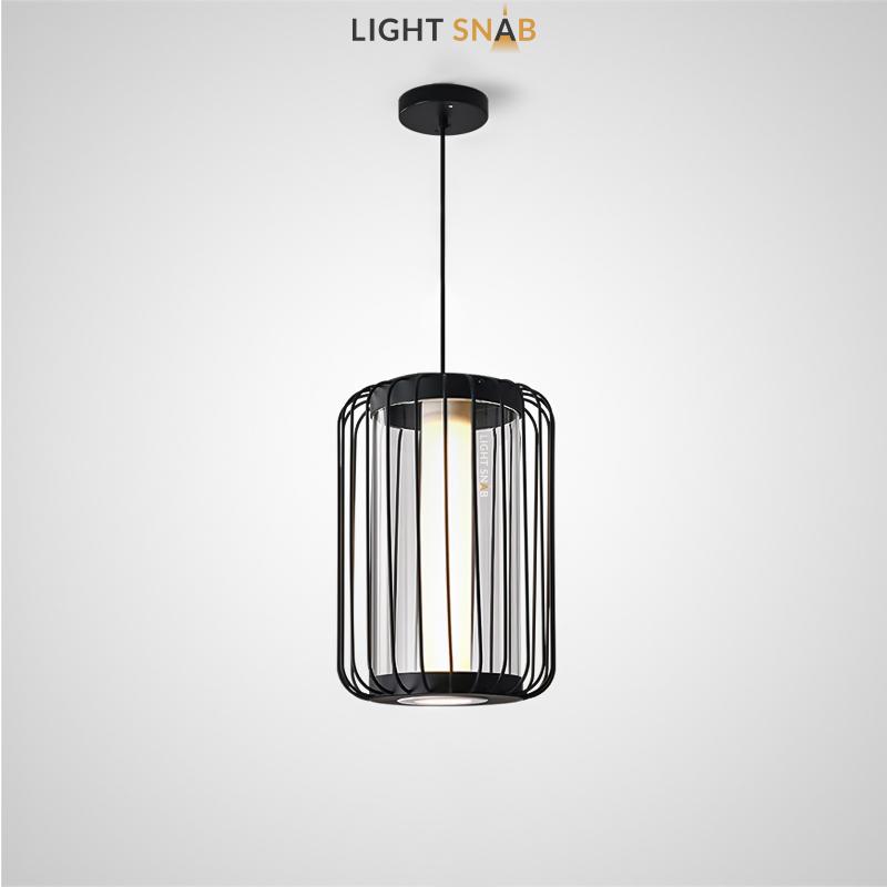 Подвесной светодиодный светильник Might размер M цвет черный