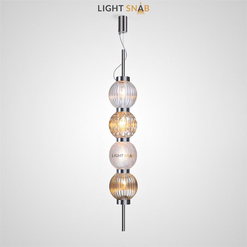Подвесной светильник Mitt 4 плафона