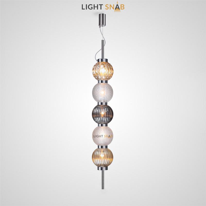 Подвесной светильник Mitt 5 плафонов