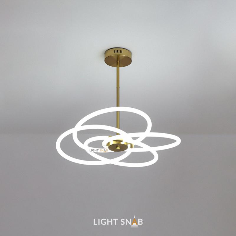 Люстра Nomos размер L. Теплый свет