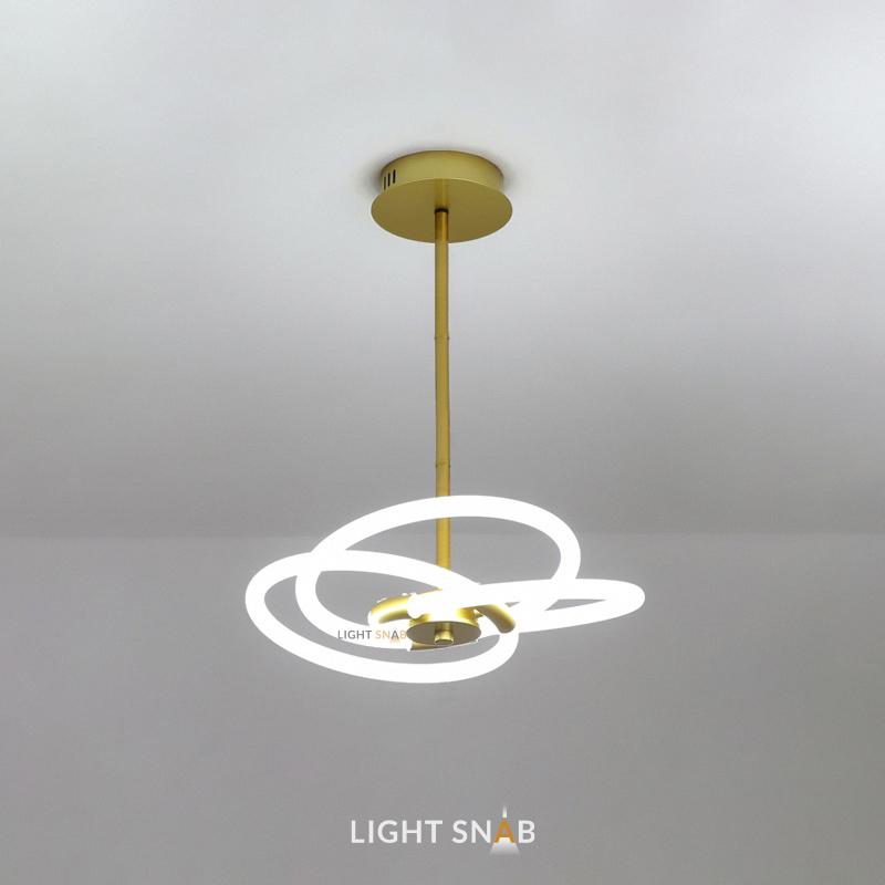 Люстра Nomos размер M. Теплый свет