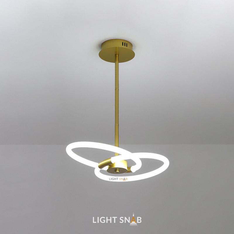 Люстра Nomos размер S. Теплый свет