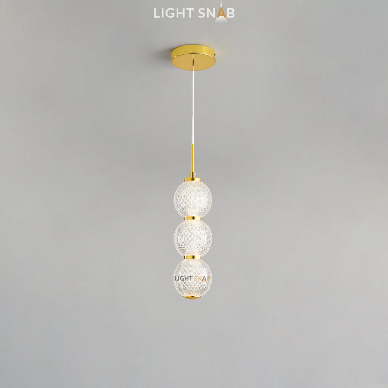 Подвесной светодиодный светильник Norill тип A трехцветный свет