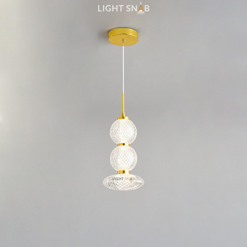 Подвесной светодиодный светильник Norill тип B трехцветный свет