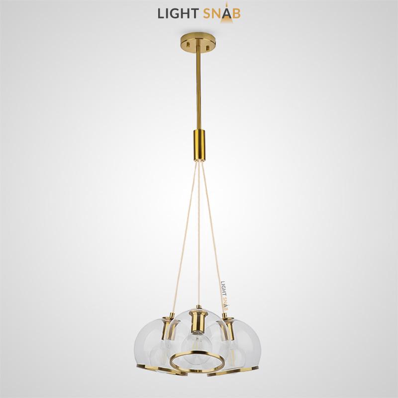 Подвесной светильник Nuazen модель 3 плафона
