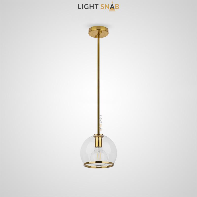 Подвесной светильник Nuazen One с шарообразным стеклянным плафоном