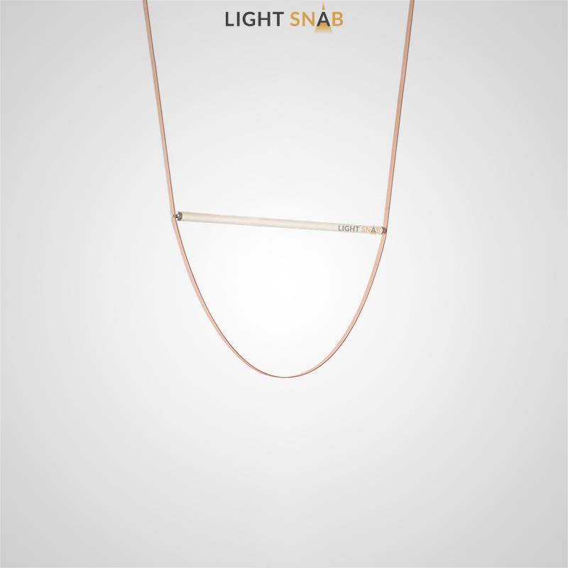 Дизайнерский подвесной светильник Nutta размер S белый свет
