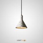 Подвесной светильник Olaug цвет белый