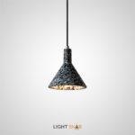 Подвесной светильник Olaug цвет черный