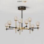 Светодиодная люстра Olympus 9 ламп трехцветный свет
