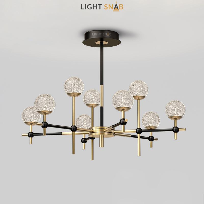 Светодиодная люстра Olympus 9 ламп нейтральный свет