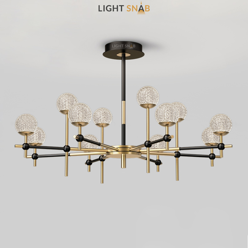 Светодиодная люстра Olympus 12 ламп нейтральный свет